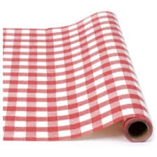 gingham wrapping paper 30