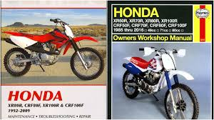 honda crf 100 service manual 2004 2013