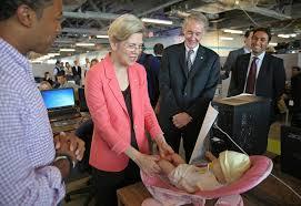 elizabeth warren resume markey warren in senate bear hug the boston globe
