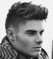 mens short side long top hairstyles top men haircuts