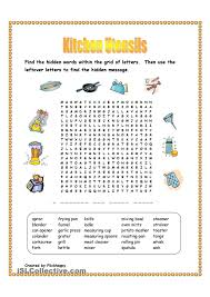 kitchen utensils wordsearch teaching pinterest kitchen