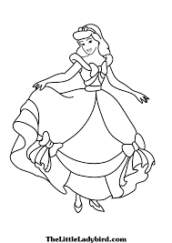 princess coloring pages thelittleladybird com