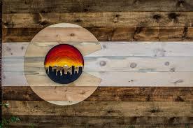 Custom Team Flags Custom Colorado Woodcraft
