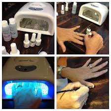 how to apply gelish polish french manicure