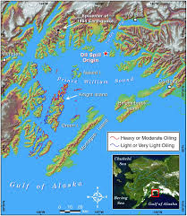 The Red Sea Map Map Of Prince William Sound Alaska The Location Of The Exxon