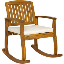 Wood Rocking Chair Acacia Wood Rocking Chair U2013 Best Choice Products