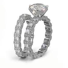 style wedding rings images Vintage style wedding ring set jpg