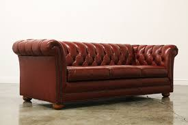 Vintage Tufted Sofa by Vintage Tufted Leather Chesterfield Sofa Vintage Supply Store