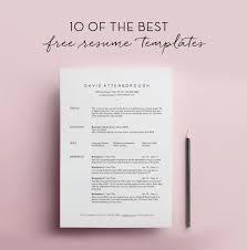 awesome resume templates free photo resume template free in free cool resume templates