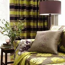 Green And Brown Curtains Extravagance Fabric Collection Clarke And Clarke Curtains