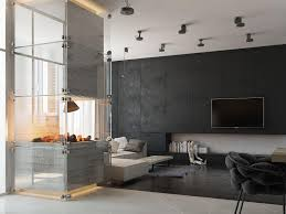 modern concrete fireplace interior design ideas streamlined