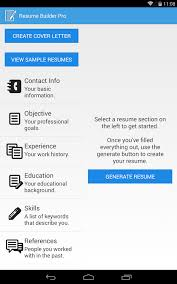 Resume Maker Creative Resume Builder by Resume Builder Pro Android Apps On Google Play