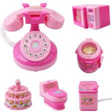 cuisine bebe jouet bébé jouet mini téléphone gâteau toilette réfrigérateur avec la
