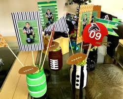 football centerpieces football photo centerpieces free templates savvy nana
