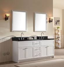 Bathrooms With Double Vanities Double Sink Bathroom Vanities 72 87 Inches