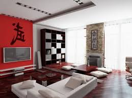 Red Accent Wall by Chic White Vinyl Sectional Sofa With Red Accent Wall Painted Also