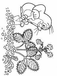 super coloring pages mole color print free
