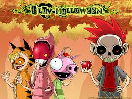 anime halloween wallpaper i luv halloween wallpaper by zombidj on deviantart