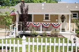 Porch Flag Domestic Fashionista On The Porch Stars Stripes