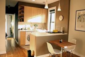 studio apartment design small decorating ideas l shaped top open