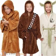robe de chambre wars officiel enfants wars jedi yoda peluche peignoir polaire garçon