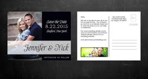 postcard save the dates modern postcard save the dates template ideas