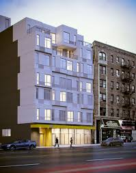 construction begins on nyc u0027s first prefab steel and concrete