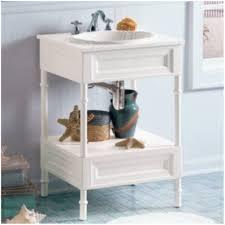 Bathroom Vanity With Shelf by Open Shelf Bathroom Vanity Home Design Ideas