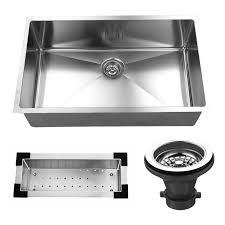 Black Single Bowl Kitchen Sink by Kbc 32