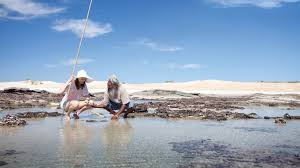 Pink Lake Western Australia Tourism Australia