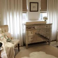 Brown Changing Table Mirrored Changing Table Design Ideas