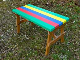 thames child s multicoloured outdoor table recycled plastic trade