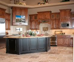 luxurious black chairs with black wooden kitchen island combined