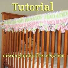 reversible crib teething rail padded front cover by myfrecklesshop
