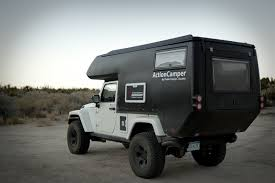 survival truck camper jeep actioncamper fully equipped expedition ready slide in