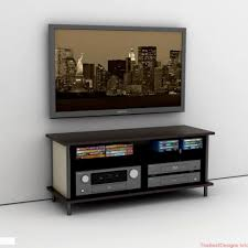 shelf under wall mounted tv top floating notched leg media