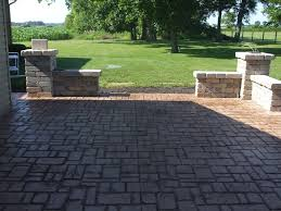 Stamped Concrete Patio Prices by Thill Concrete Contractors Stamped Concrete Patios Driveways Pools