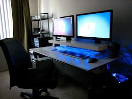 Awesome Office Desks Home Office Desk Setup Ideas Awesome Computer Setups Bfabcbeb