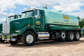 kenworth service truck skips wastewater services ct septic ellington ct