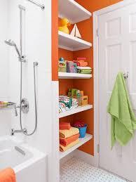 Towel Storage For Bathroom by Best 25 Kids Bathroom Storage Ideas On Pinterest Kids Bathroom