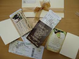 Boarding Pass Wedding Invitations Passport And Boarding Pass Wedding Invitations By Blessed0913 On