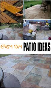 Cover Cracked Concrete Patio by Best 25 Patio Flooring Ideas On Pinterest Outdoor Patio