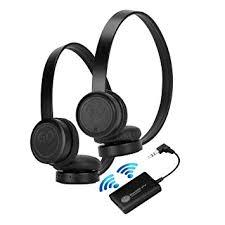 amazon black friday wireless headphones amazon com gogroove bluevibe 2 tv bluetooth wireless headphones