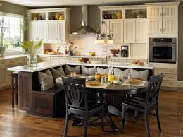 kitchen island with table built in kitchen island with built in table kitchen table gallery 2017