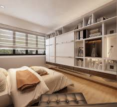 Hdb Bedroom Design With Walk In Wardrobe Residential Interior Design U0026 Renovation Contractor Singapore