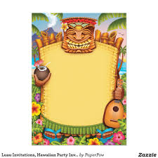 luau party invitations and get ideas how to make your party