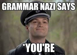 Grammar Guy Meme Generator - don t mess with grammar nazi misc quickmeme