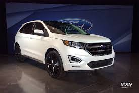 ford crossover suv ford unveils new 2015 edge crossover ebay motors blog