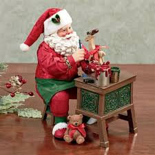 clothtique santa craftsman corner clothtique santa figurine