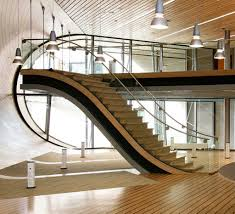 interior traditional wood block stair railing ideas with stand